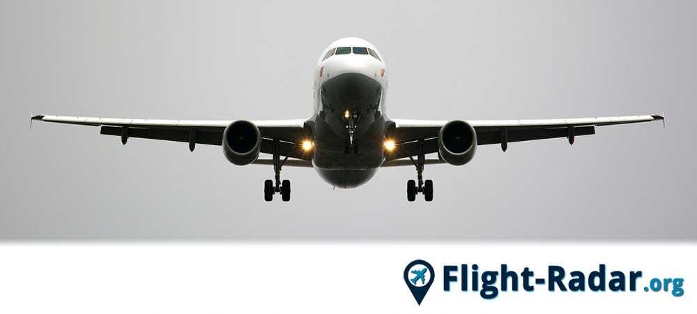 Un velivolo che può essere monitorato con il flight radar