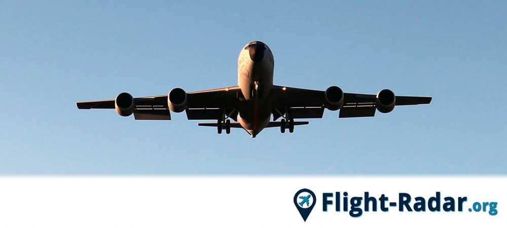 Samolot, który można śledzić za pomocą flight radar
